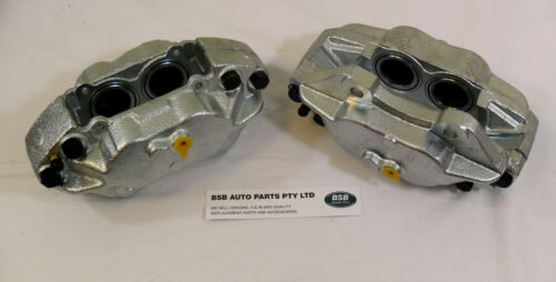 2 Land Rover Defender 110 front brake calipers solide disques RTC5572-3