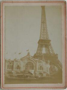 Tour-Eiffel-Exposition-universelle-Paris-1900-France-Photo-Vintage