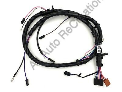Holden WB V8 Blue 253 308 Engine Wiring Harness Emissions Loom Panel on cable carrier, wood loom, cable reel, multicore cable, carpet loom, cable dressing, cable management, crazy loom, cable loom, direct-buried cable,