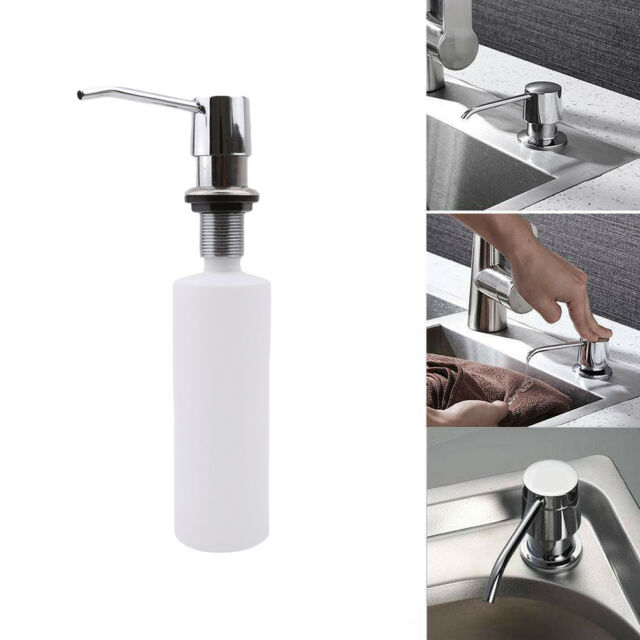 Soap Dispenser Kitchen Sink Faucet Bathroom Shower Lotion Shampoo Pump 300ml