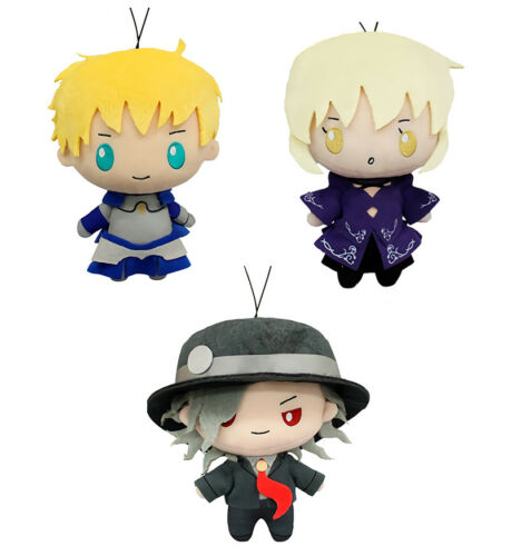 Fate Grand Order Sanrio Saber Arthur Pendragon Character Plush Toy Doll Vol.6