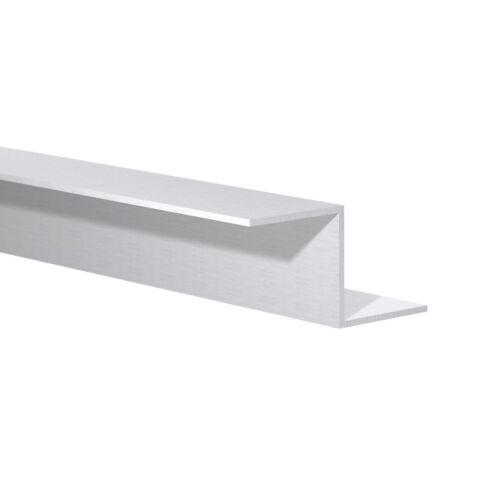 """Aluminum Z Bar 1-1//8/"""" x 1-1//8/"""" x 1//16/"""" Thick x 6ft Long"""