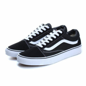 Hot-VAN-Classic-OLD-SKOOL-Women-Mens-Canvas-Casual-Shoes-Sneakers