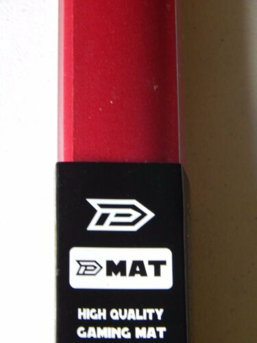 CCG Play Mat Dek Prot Red 24 x 14 Magic MTG Pokemon Card fight