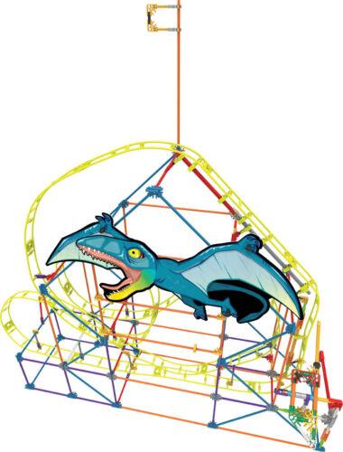 K`nex Dinosaurio gota montaña rusa construcción Conjunto de Construcción Construir y Jugar Juguete