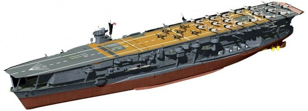 Fujimi 1 700 FH22 Japanese Navy Aircraft Carrier KAGA Full Hull JAPAN F S J9240