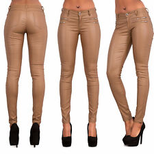 8a014bb54680e0 item 3 WOMEN'S FAUX LEATHER TROUSERS Wet Look Skinny Slim Jeans Candy Color  UK 6-14 -WOMEN'S FAUX LEATHER TROUSERS Wet Look Skinny Slim Jeans Candy  Color UK ...