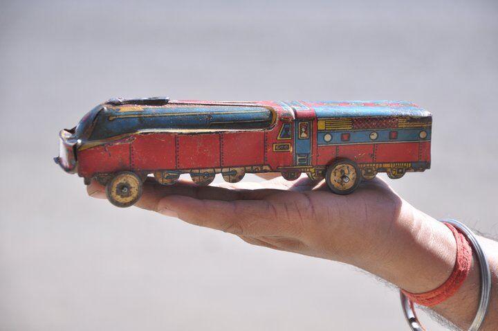 compras online de deportes Motor De Tren Tren Tren Vintage Fina No.600 Litografía juguete de estaño  barato en línea