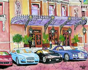 CASINO-MONTE-CARLO-Original-Art-PAINTING-DAN-BYL-Modern-Contemporary-Large-4x5ft