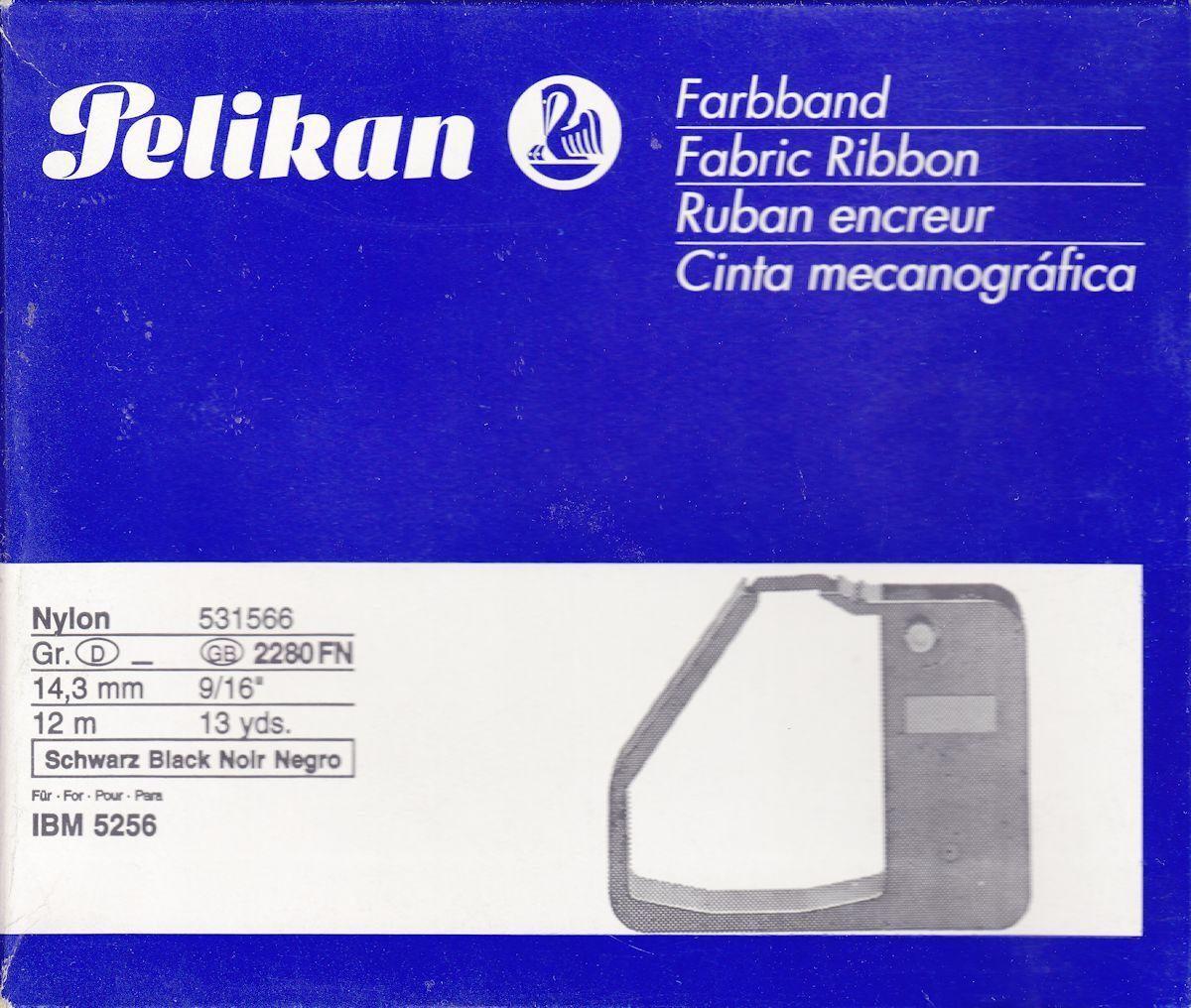 1x PELIKAN correctable Film Farbband Gr 146 C Schwarz für IBM 196 C,210,6704