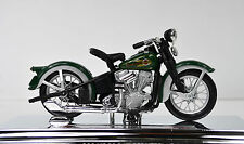 Harley Davidson 1936 EL Knucklehead dunkelgrün Maßstab 1:18 von maisto