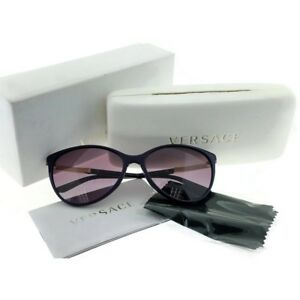 Versace-VE4260-50648H-Cat-Eye-Women-039-s-Purple-Frame-Mauve-Lens-Sunglasses-NWT