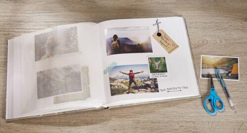 100 Seiten NEU Walther Fotoalbum Standard Jumbo Album 30x30cm