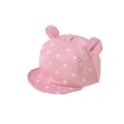 Dot Baby Caps New Girl Boys Cap Summer Hats For Boy Infant Sun Hat FO