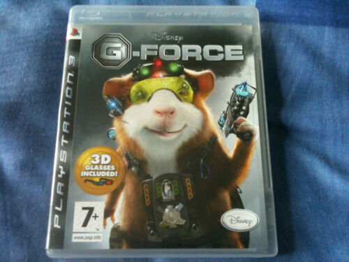 1 of 1 - G-FORCE (2009 Sony PlayStation 3 Game with instruction manual) PS3
