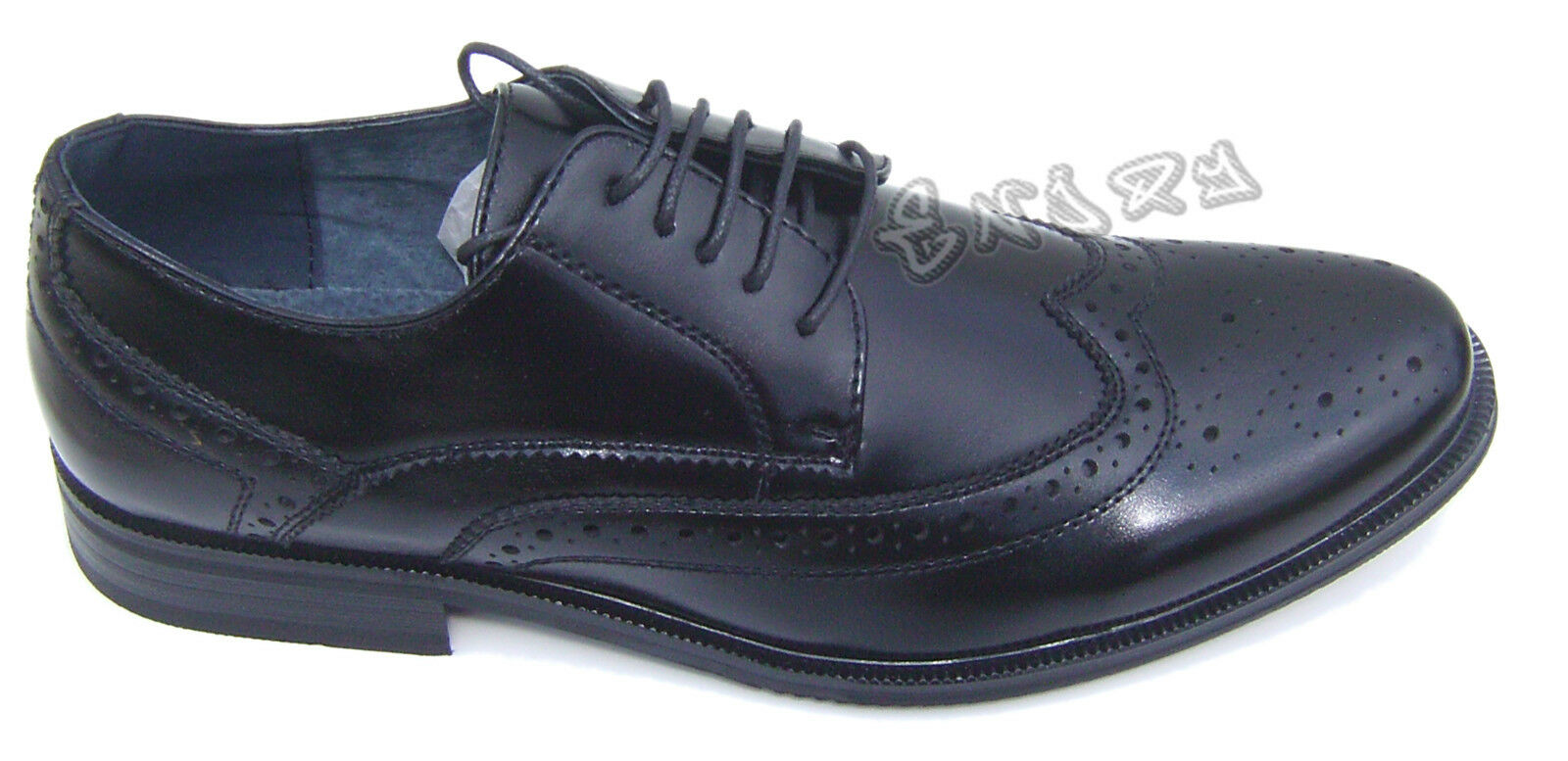 shoes CLASSICHE men shoes ELEGANTI CON LACCI CERIMONIA 41 42 43 44 45 art.458