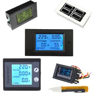 AC-80-260V-0-100A-LCD-Volt-Current-Watt-Kwh-Meter-Power-Energy-Ammeter-Voltmeter