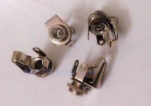 2-PCS-3-5mm-Mono-Audio-Female-Jack-Socket-Connector-Panel-Mount-Solder-Lot