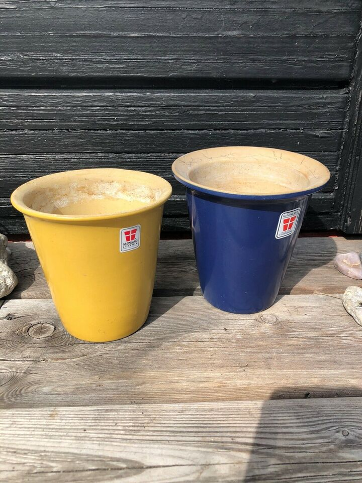 Urtepotteskjuler , krukker til planter, Grønland Keramik