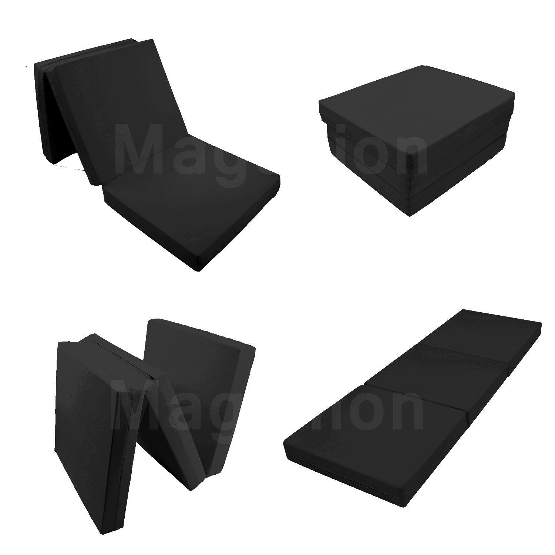 Floor Mattress Tatami Foam Mat Foam Bed Trifold Folding