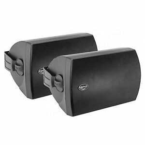 REDUCED!! Klipsch AW-650 Indoor Outdoor Speakers 340 W 1 Pair. BLACK, NEW!