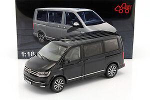 volkswagen vw multivan t6 highline preto 1 18 nzg ebay. Black Bedroom Furniture Sets. Home Design Ideas