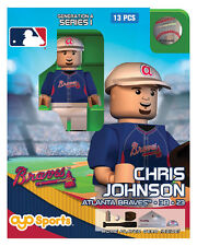 Chris Johnson OYO Atlanta Braves MLB Mini Figure NEW G4