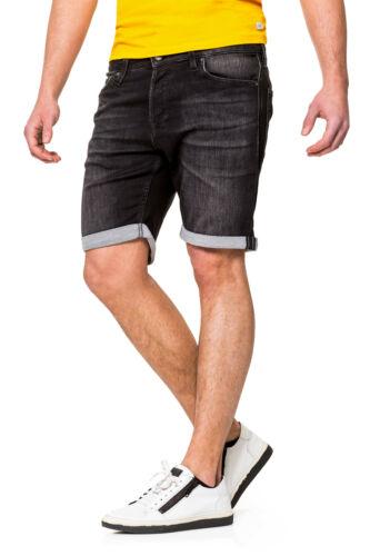 Jack /& Jones Herren Jeans Shorts Bermudas Used Look Herrenshorts Hose Jeanshose