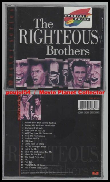"THE RIGHTEOUS BROTHERS ""Master Series"" (CD) 1996 NEUF"