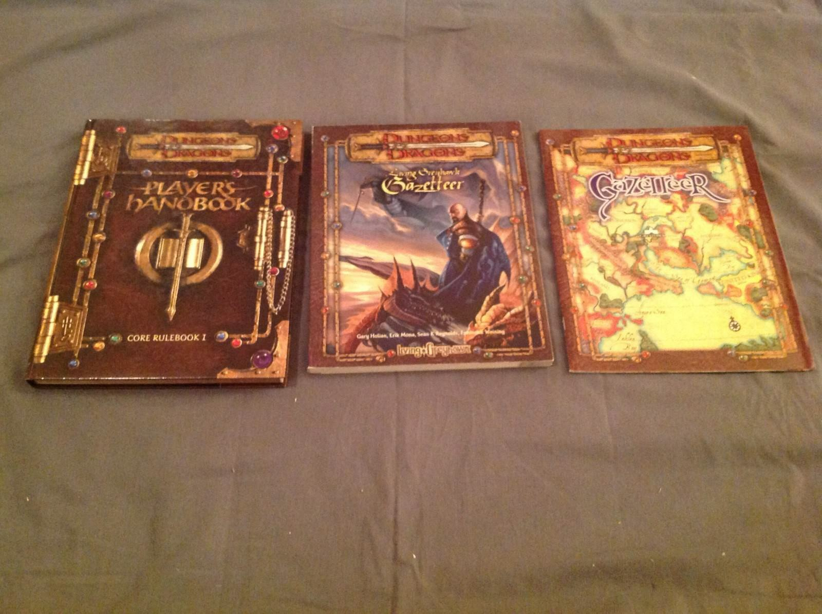 Calabozos Y Dragones Lote de 3 libros,  Excelente , Lote JJ