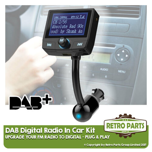 Simple Stereo Upgrade DIY FM to DAB Radio Converter for Audi R8