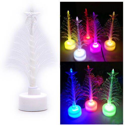 Bunt LED Weihnachts Baum Christbaum Home Party Dekoration Kinder Geschenk