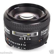 Nikon AF 50MM F/1.4D Lens Brand New With Shop Agsbeagle