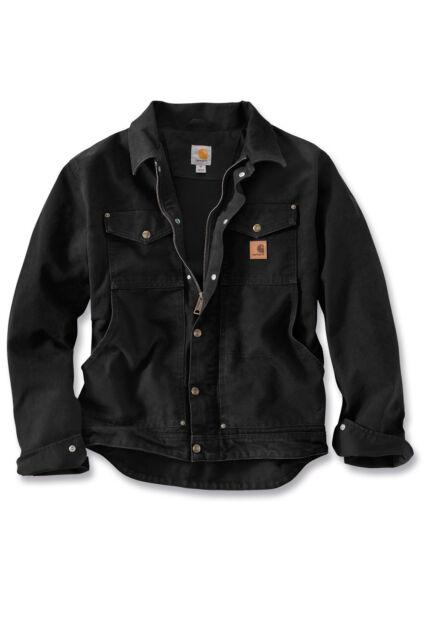 5c4ab40eb16 Carhartt Berwick Jacket Workwear 101230 Black - Large for sale ...