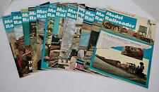 1968 Full Year Model Railroader Magazine Hobbyist Train Article Layouts Pictures