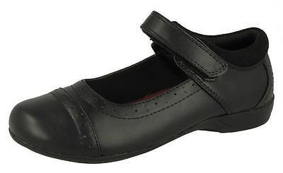 Girls Cool 4 School Black School Shoes UK Sizes 10-2 H2423