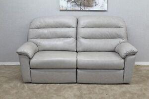 G-Plan-Dinton-Grey-Designer-Leather-Manual-Reclining-3-Seater-Sofa