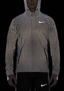 29c137ef684b NIKE FLASH CITY REFLECTIVE 3M RUNNING JACKET MENS SIZE LARGE L FCRB ...