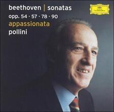 Appassionata (Pollini)  CD NEW