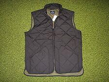 $150. Men's Black Quilted Vest (L) J. CREW