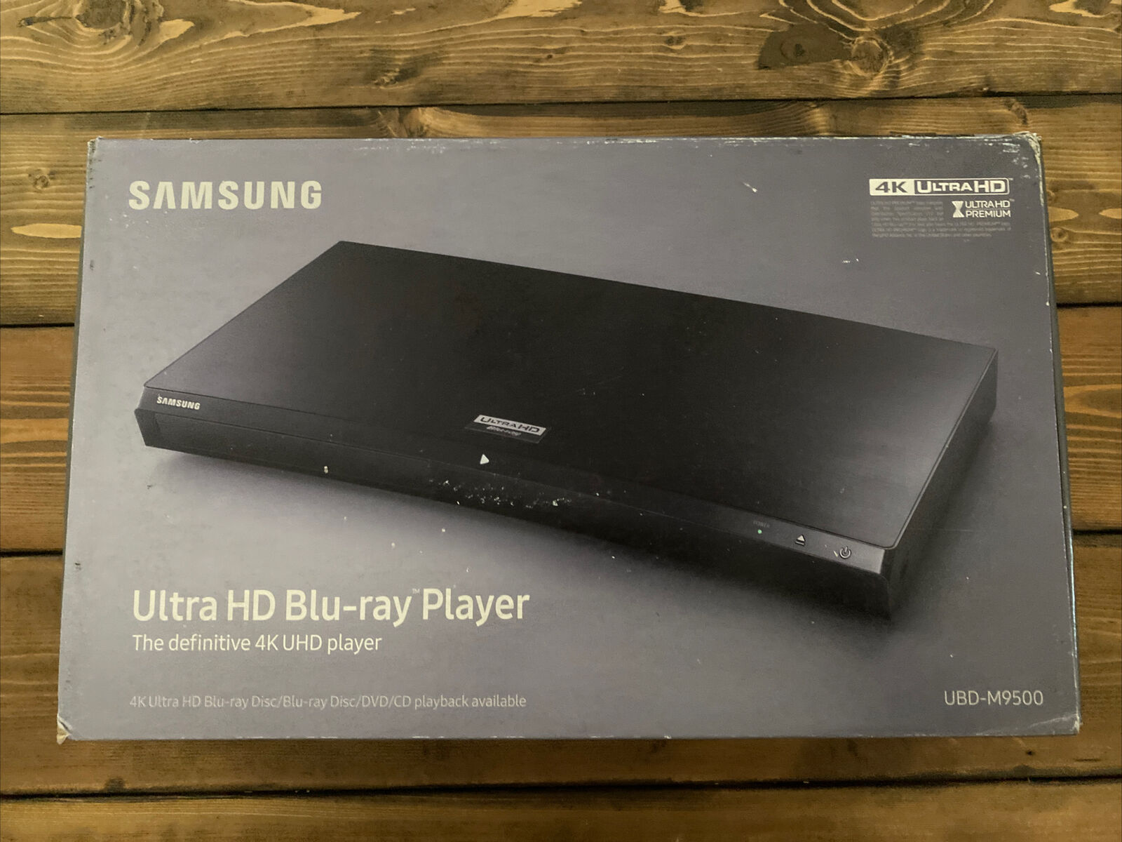 Samsung - UBD-M9500 Streaming 4K Ultra HD Wi-Fi Built-In Blu-Ray Player - Sealed player samsung sealed streaming ultra