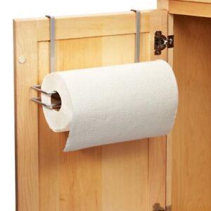 Kitchen Roll Holder Stainless Steel Sucker Tissue Paper Towel Rack