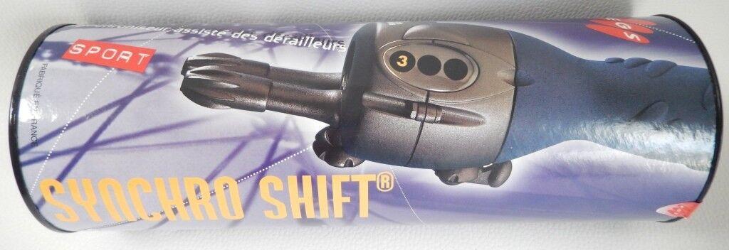 EGS SYNCHRO SHIFT SPORT 3 X 7 Speed Schalthebel+Kabel+Leerrohre alte Schule  | Vielfältiges neues Design