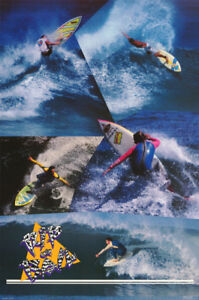 POSTER-SPORTS-surf-repose-en-paix-ou-caution-livraison-gratuite-RC27-M