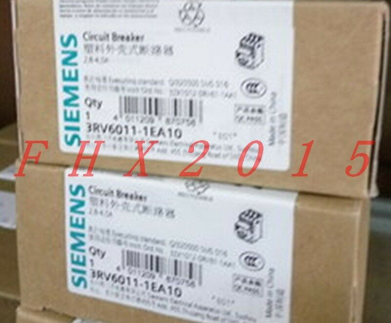 ONE NEW Siemens Circuit Breaker 3RV6011-1EA10 2.8-4A
