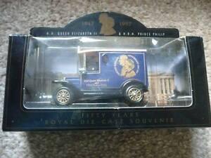 British-Golden-wedding-anniversary-miniature-car-1997