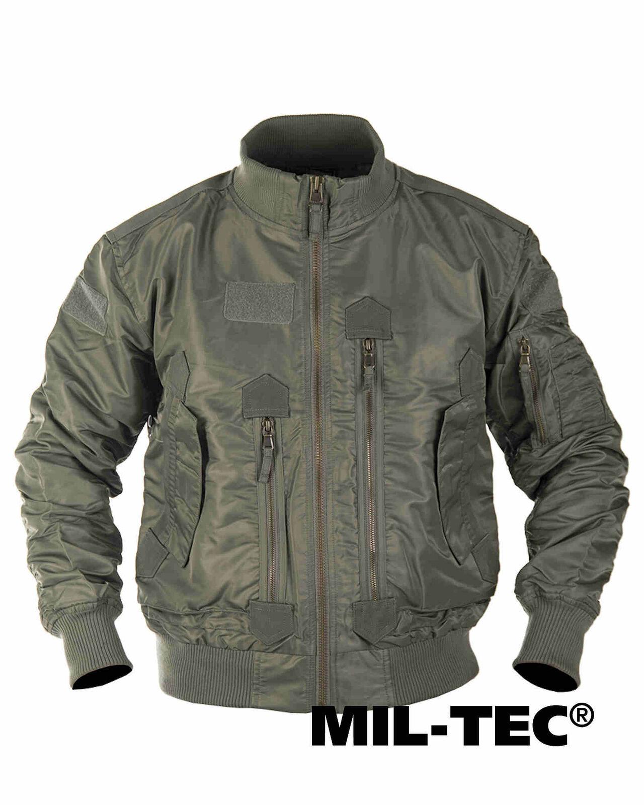 Mil-tec us Tactical aviador chaqueta verde oliva hidrófuga chaqueta