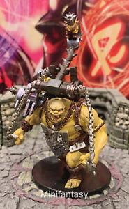 Ogre Goblin Hucker D/&D Miniature Dungeons Dragons Pathfinder Giant Thrower 43