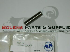 Details about GENUINE Wisconsin engine Valve guide AD41E THD,TJD,TE,TF,VH4D  and others AD-41-E