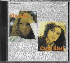 """FIORELLA MANNOIA e ALICE ( CARLA BISSI ) -RARO CD CELOPHANATO """" I PRIMI PASSI  """""""